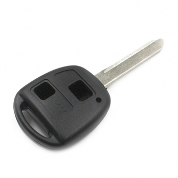 Заготовка ключа с кнопками с местом под чип и плату, профиль TOY47,  количество кнопок: 2