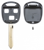 Заготовка ключа с кнопками с местом под чип и плату, профиль TOY47,  количество кнопок:3_2
