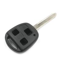 Заготовка ключа с кнопками с местом под чип и плату, профиль TOY47,  количество кнопок:3