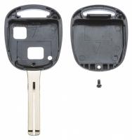 Заготовка ключа с кнопками с местом под чип и плату, профиль TOY48, количество кнопок: 2_2