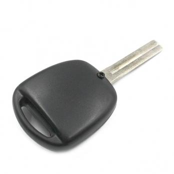 Заготовка ключа с кнопками с местом под чип и плату, профиль TOY48, количество кнопок: 2