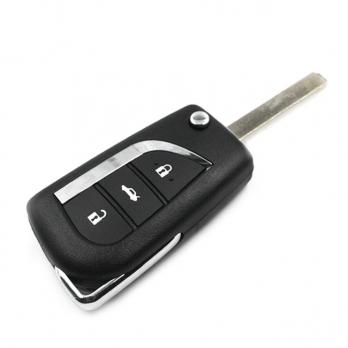 Заготовка выкидного ключа с местом под чип и плату, профиль VA2, количество кнопок: 3