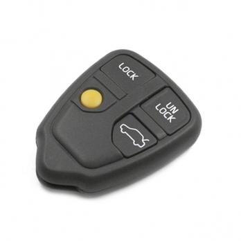 Заготовка штатного пульта сигнализации под плату, количество кнопок: 4