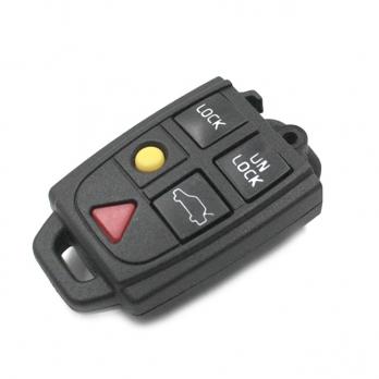 Часть выкидного ключа с местом под уставку платы центрального замка, количество кнопок: 5