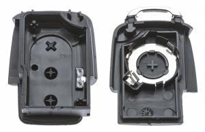 Заготовка выкидного ключа с местом под чип и плату, профиль HU66, количество кнопок:3_3