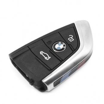 Смарт ключ с платой центрального замка 433/434 Мгц с чипом, профиль HU100R, количество кнопок: 3