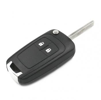 Ключ с платой центрального замка 433/434 Мгц с чипом, профиль HU100, количество кнопок: 2