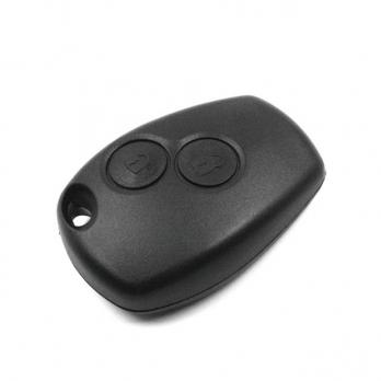 Ключ с платой центрального замка HitagAES 433/434 Мгц с чипом, без лезвия , количество кнопок: 2