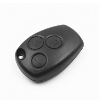 Ключ с платой центрального замка HitagAES 433/434 Мгц с чипом, без лезвия , количество кнопок: 3